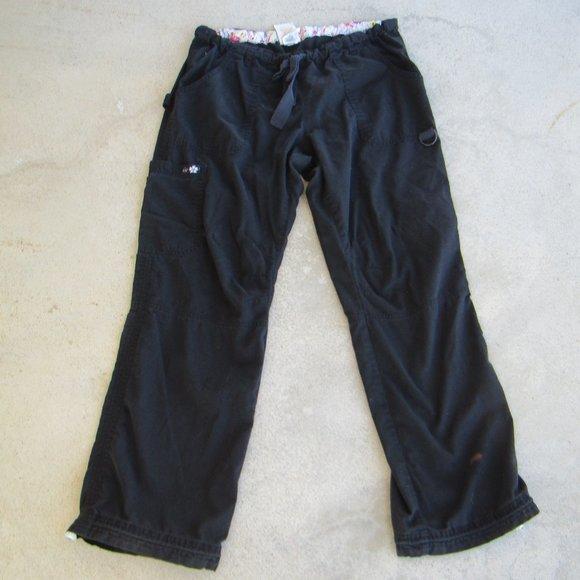 Koi 701 Lindsey Black Scrub Pants, M